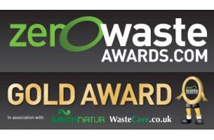 zero wast award winner logo