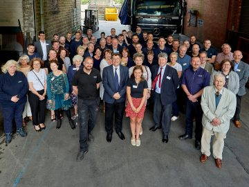 anglo recycling celebrating 80th birthday